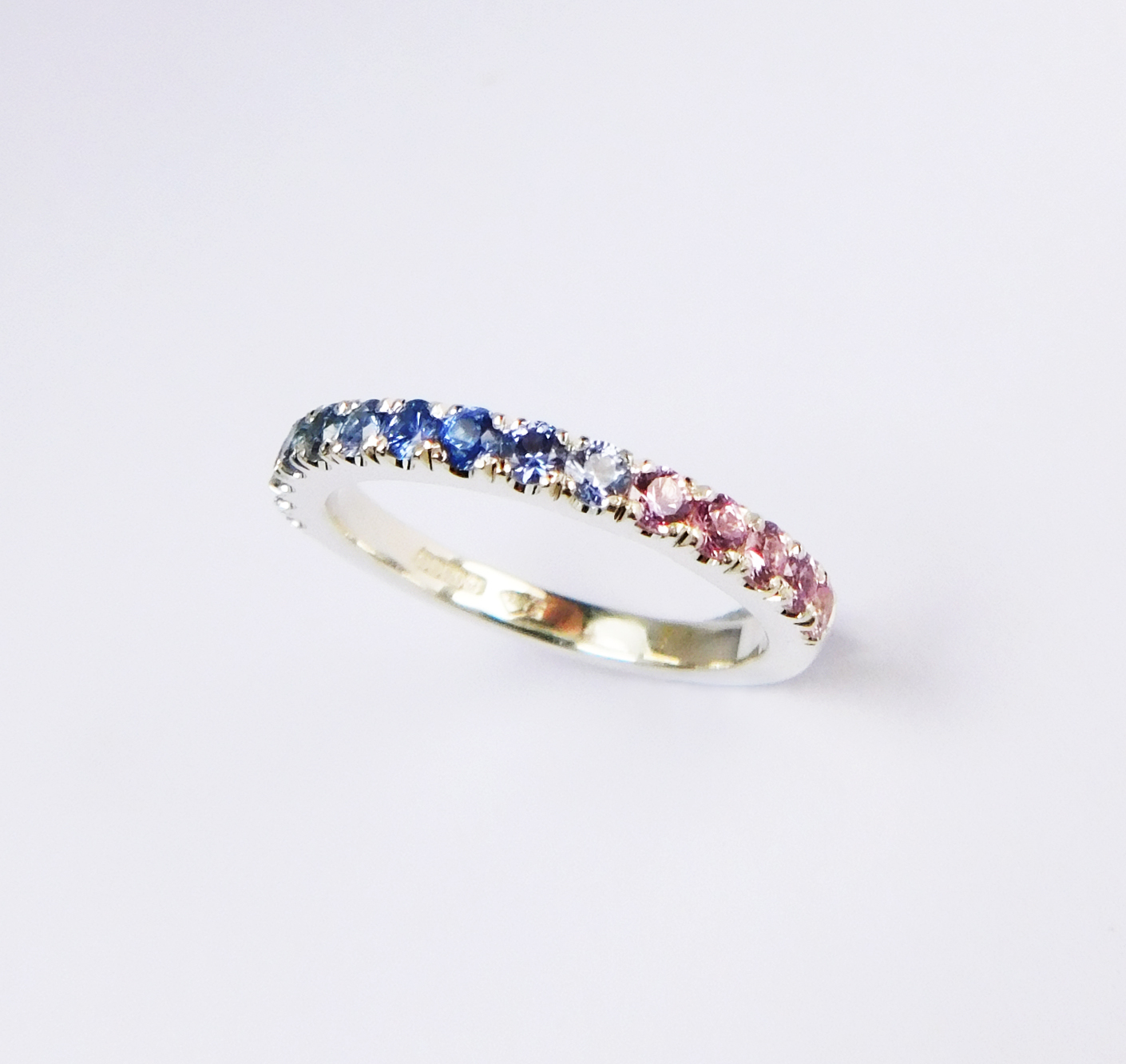 Jewelry & Watches Fashion Style 9ct Yellow Gold Graduated Bubble Stacking Ring