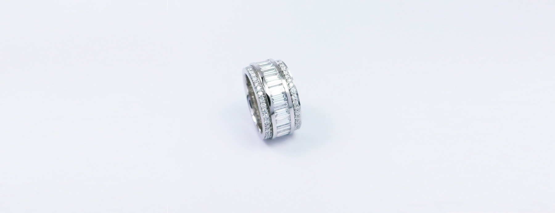 Platinum Full Eternity Ring